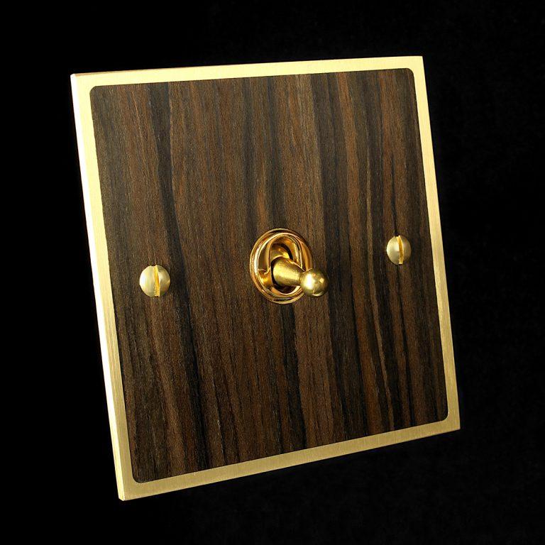 0 brass + newood veneer