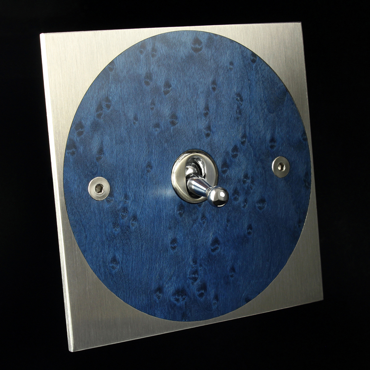 0 stainless steel + blue maple